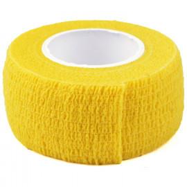 Бандаж узкий жёлтый
