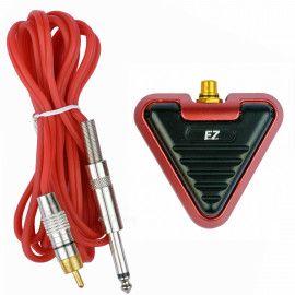 Педаль DELTA от EZ Tattoo (разъем 6.35 mm) красная