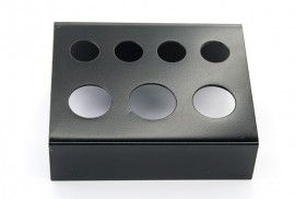 Металлическая подставка для емкостей под пигменты 71мм*58мм*39мм (черная)